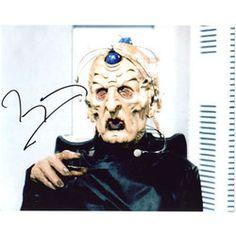 TERRY MOLLOY Dr Doctor Who 'Davros' Autograph S...