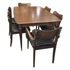 Beacon Hill of Boston Art Deco Dining Set
