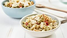 Dinner is a snap with these satisfying pasta salads hearty enough to make a meal for the whole family.