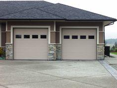 New Long Panel Garage Doors