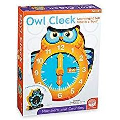 MindWare 04927001899 Mindware Owl Clock. -- Visit the image link more details. We are a participant in the Amazon Services LLC Associates Program, an affiliate advertising program designed to provide a means for us to earn fees by linking to Amazon.com and affiliated sites.
