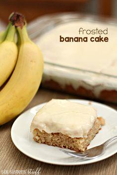 Banana Cake Tip Hero Pinterest