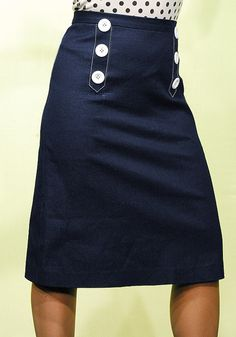 Navy pencil skirt http://www.swingoutfits.com/pictures/pencil_skirt.jpg