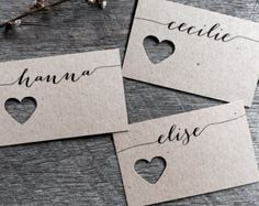 Wedding Fork Place Cards Wedding Place Cards by LaPommeEtLaPipe - # ho… - wedding ideas - Tischkarten Hochzeit - Handmade Wedding, Diy Wedding, Wedding Day, Wedding Favors, Wedding Quotes, Wedding Bells, Party Favors, Wedding Decorations, Wedding Places