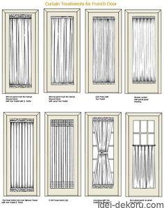Beautiful Standard Patio Door Size Curtains