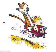 Doppelgangers: Marshall and Kali have been compared to the characters of the comic strip Calvin
