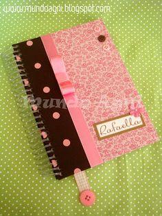 Mundo Agni Scrapbook & Craft: Cadernos
