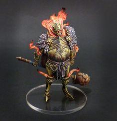 Kingdom Death : Golden Smoke Knight. - Gangeek Style