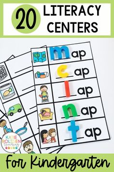Your kindergarten students will love these interactive, low-prep literacy centers for October! I created this engaging centers bundle to be used in October. Although it is not fall-themed, the foundational literacy skills covered are appropriate for kindergarten students during the second to third months of the school year. These easy, fun literacy centers can be used for pre-teaching, re-teaching, and review as well!