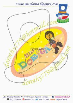 Miss Dorita: Picaporte Muñeco de Nieve