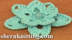 Crochet Lily Tutorial 86 Free Crochet Flower Patterns