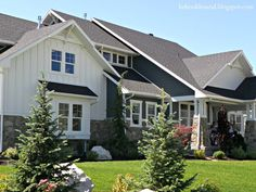 Craftsman Style Home Exteriors   craftsman cottage style house exterior   Hooked on Houses