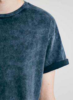 Indigo Hard Washed T-Shirt