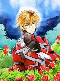 Hearty no Kuni no Alice Ace fanart by kawaii-ash