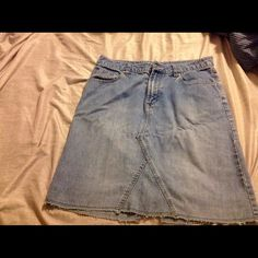 Denim skirt Jean skirt from a smoke free home. No stains rips or holes. WILLING TO BUNDLE Aeropostale Skirts