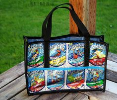 Juice Pouch Tote | AllFreeSewing.com