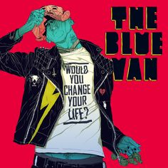 Boneface 2012 The Blue Van - Would You Change Your Life? [Iceberg ICECD690] #albumcover #comics