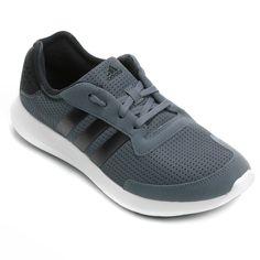 T�nis Adidas Element Refresh Cinza e Branco | Netshoes