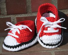 Baby Sneakers Baby Chucks All Star Baby Booties by CAROcreated