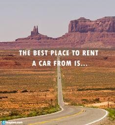 Which company should you use when renting a car? #roadtrip #rentalcar www.cheapism.com/cheap-car-rentals  photo - flickr.com/photos/katsrcool/