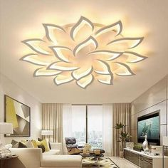 This unique LED lamp is something totally different! Combine several designs and create you own unique light display on your wall or ceiling The lamps are made of aluminum with an LED light strip. You can choose between a warm white and a cold white Modern Led Ceiling Lights, Ceiling Light Fixtures, Ceiling Lamp, Farmhouse Pendant Lighting, Vintage Wall Lights, False Ceiling Design, Altar, Night Light, Shopping Deals