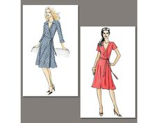 Schnittmuster Vogue 8379 Kleid