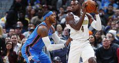 NBA: Mudiay lidera a los Nuggets en su triunfo ante el Thunder