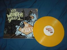 The Wonder Years - The Upsides vinyl (yellow).