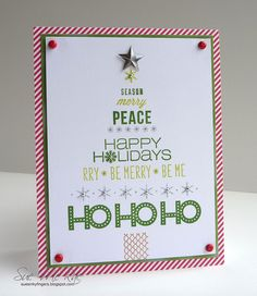 ABNH Christmas Card by Stampin Sue, via Flickr