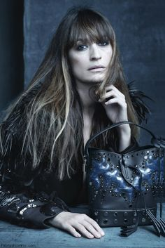 Caroline de Maigret for Louis Vuitton SS 2014 campaign