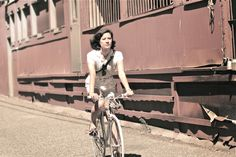 BORDEAUX CYCLE CHIC: Vancouver Cycle Chic #cycling