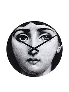 Mid-Century Girl Secrets Clock