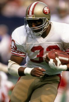 Running back Roger Craig Nebraska Football, Nfl Football Players, American Football Players, Football Helmets, Nfl 49ers, 49ers Fans, San Francisco Football, 49ers Players, Nfl Uniforms