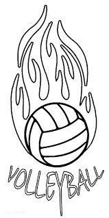 37 beste afbeeldingen kleurplaat volleybal volleybal