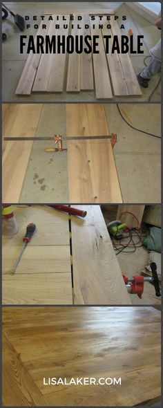 Good There Are Plans All Over The Web On How To Build A Farmhouse Table Top.