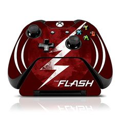 Controller Gear The Flash Nerdy Dream  Xbox One Skin Set for Controller and Controller Stand * You can get more details by clicking on the image.Note:It is affiliate link to Amazon.