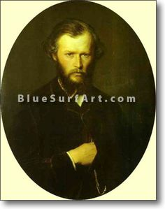 Portrait of Nikolai Lanin - £124.99 : Canvas Art, Oil Painting Reproduction, Art Commission, Pop Art, Canvas Painting