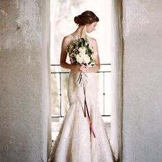 Old World Architectural Wedding Styling from Katie Grant