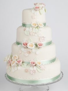 """Parisian Rose"" by The Liggy's Cake Company"