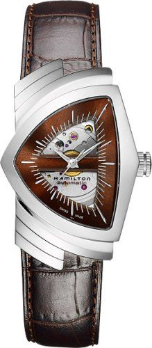Hamilton Ventura Brown Skeleton Dial SS Leather Automatic Men's Watch H24515591 https://www.carrywatches.com/product/hamilton-ventura-brown-skeleton-dial-ss-leather-automatic-mens-watch-h24515591/ Hamilton Ventura Brown Skeleton Dial SS Leather Automatic