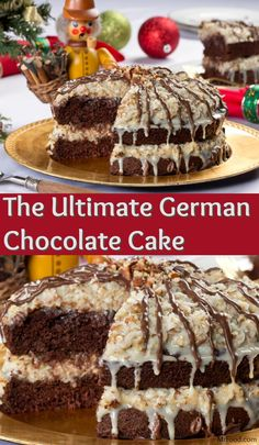 Are you ready for a cake recipe that will trump any other cake you ever make again? The Ultimate German Chocolate Cake has that heavenly, chocolate-y goodness you love with a melt-in-your-mouth sweetness you won't be able to resist.