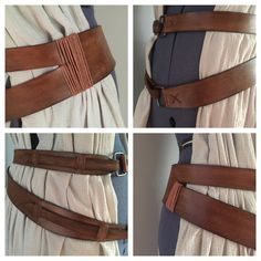 Custom Rey Star Wars Rey The Force Awakens Belt (belt only) Costume Accessory - Ideas of Star Wars Outfits - Hand made leather belt inspired by Rey from Star Wars The Force Awakens. Each belt is custom measured and cut to your provided measurements. Star Wars Costumes, Diy Costumes, Costume Ideas, Fashion Art, Star Fashion, Rey Kostüm Diy, Disfraz Rey Star Wars, Jedi Outfit, Rey Cosplay