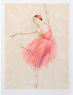 RoGallery Ballet I by Jim Jonson (Lithograph) artwork Ballet Art, Ballerina Art, Star Festival, Ballet Photos, Pink Balloons, Dance Pictures, Figurative Art, Vintage Images, Find Art