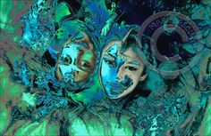 Twins mermaid -   ©www.marielasource.fr