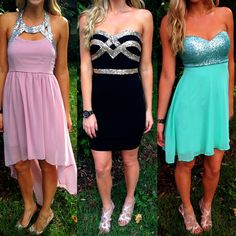 To die for NEW homecoming perfect dresses just in at Sophie! New heels ($39.99-$45) 407.324.5747 to order! #sophieandtrey #homecoming #dresses