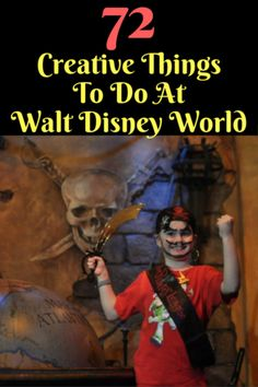 Attractions, character meets, parades, shows and dining at restaurants are the main things that people do on a Disney vacation. But there is so much more to do! Here are 72 creative things to do at Walt Disney World.