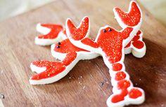 Lobster Sugar Cookies