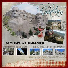Slow Scrap - Mount Rushmore - Slow Scrap Gallery - Gallery - Scrap Girls Digital Scrapbooking Forum