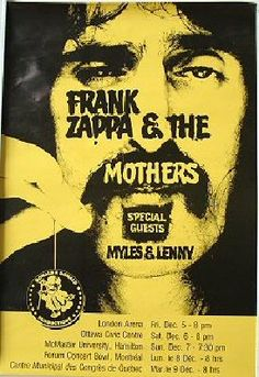 10-26-1977 FRANK ZAPPA & MOTHERS QUEBEC