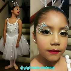 Guapa Princesa con su Maquillaje de Fantasía para su presentación de Ballet. @giginaula.makeup #giginaulamakeup #makeupecuador #maquillajeecuador #maquillajeprofesional #ballet #fantasy #maquillajedefantasia #makeupartisworldwide #makeupandmakeup #makeuplover #makeup #fantasia #glitter #cristales #hermosaprincesa #copodenieve #lovemyjob